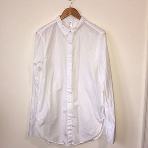 Shirt with Long Cuff